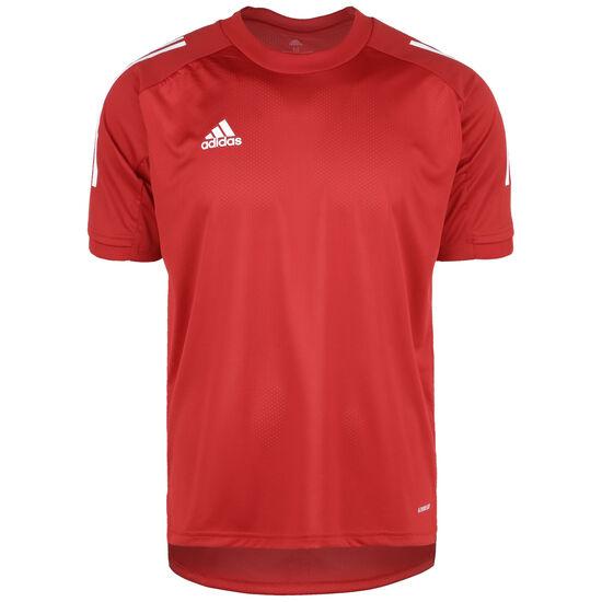 Condivo 20 Trainingsshirt Herren, rot / weiß, zoom bei OUTFITTER Online