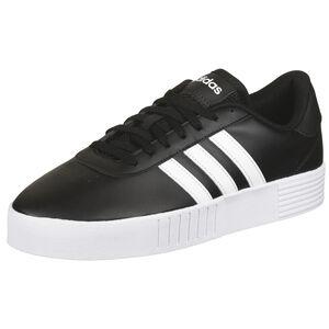 Court Bold Sneaker Damen, schwarz / weiß, zoom bei OUTFITTER Online