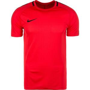 Dry Academy Trainingsshirt Herren, rot / schwarz, zoom bei OUTFITTER Online