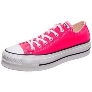 Chuck Taylor All Star Clean Lift OX Sneaker Damen, pink / weiß, zoom bei OUTFITTER Online