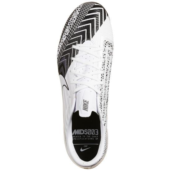 Mercurial Vapor 13 Academy MDS SG-Pro Fußballschuh Herren, weiß / schwarz, zoom bei OUTFITTER Online
