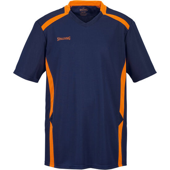 Offense Shooting T-Shirt Herren, dunkelblau / orange, zoom bei OUTFITTER Online