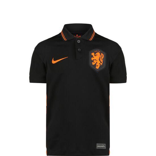 Niederlande Trikot Away Stadium EM 2021 Kinder, schwarz / orange, zoom bei OUTFITTER Online