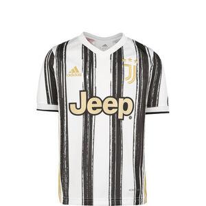 Juventus Turin Trikot Home 2020/2021 Kinder, weiß / schwarz, zoom bei OUTFITTER Online