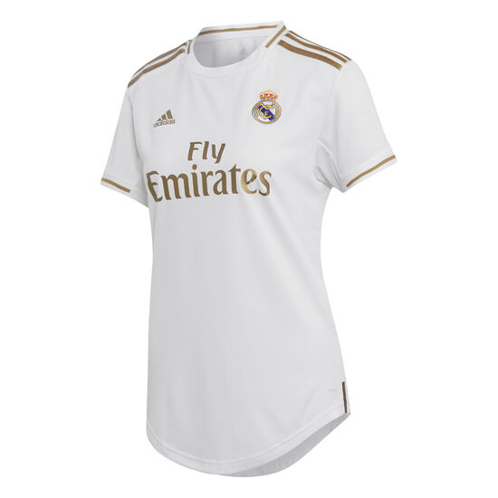 Real Madrid Trikot Home 2019/2020 Damen, weiß / gold, zoom bei OUTFITTER Online