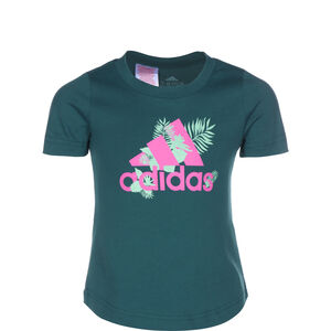 Tropical Sports Graphic T-Shirt Kinder, petrol, zoom bei OUTFITTER Online