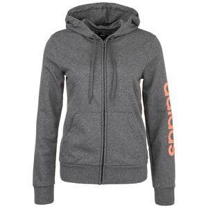 Essentials Linear Kapuzenjacke Damen, dunkelgrau / orange, zoom bei OUTFITTER Online