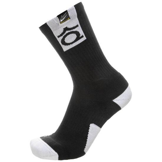 Kevin Durant Elite Crew Socken, schwarz / weiß, zoom bei OUTFITTER Online
