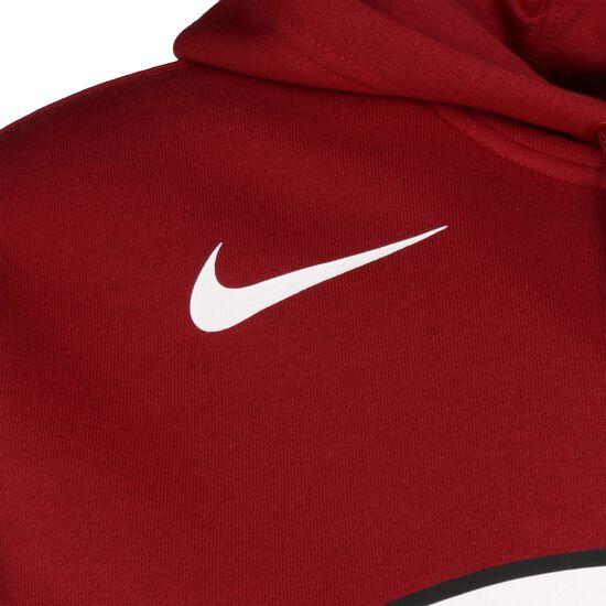 Miami Heat Club Fleece Logo Kapuzenpullover Herren, rot, zoom bei OUTFITTER Online