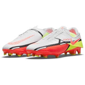 Phantom GT2 Academy FlyEase MG Fußballschuh Herren, weiß / rot, zoom bei OUTFITTER Online