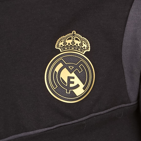 Real Madrid T-Shirt Kinder, schwarz / gold, zoom bei OUTFITTER Online