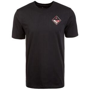 Wings Flight Logo T-Shirt Herren, schwarz, zoom bei OUTFITTER Online