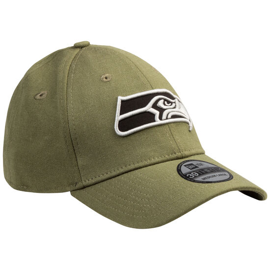 39Thirty NFL Heather Essential Seattle Seahawks Cap, oliv / schwarz, zoom bei OUTFITTER Online
