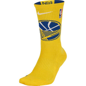 Golden State Warriors NBA Crew Basketballsocken, gelb / blau, zoom bei OUTFITTER Online