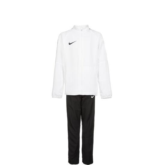 Dry Academy 18 Trainingsanzug Kinder, weiß / schwarz, zoom bei OUTFITTER Online