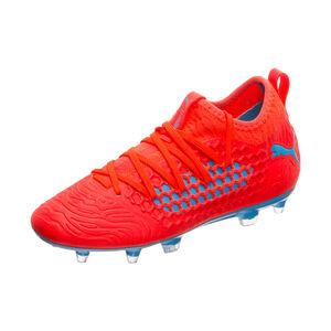 Future 19.3 NETFIT FG/AG Fußballschuh Kinder, rot / blau, zoom bei OUTFITTER Online