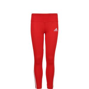 3-Streifen Leggings Kinder, rot / weiß, zoom bei OUTFITTER Online