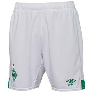 SV Werder Bremen Shorts Home 2021/2022 Herren, weiß / grün, zoom bei OUTFITTER Online