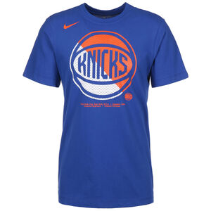 New York Knicks Trainingsshirt Herren, blau / orange, zoom bei OUTFITTER Online