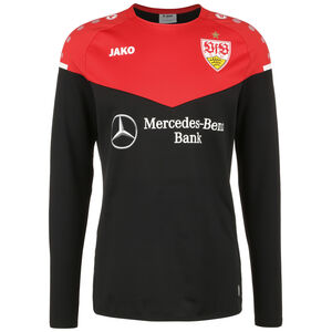 VfB Stuttgart Champ 2.0 Sweatshirt Herren, schwarz / rot, zoom bei OUTFITTER Online
