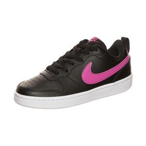 Court Borough Low 2 Sneaker Kinder, schwarz / pink, zoom bei OUTFITTER Online