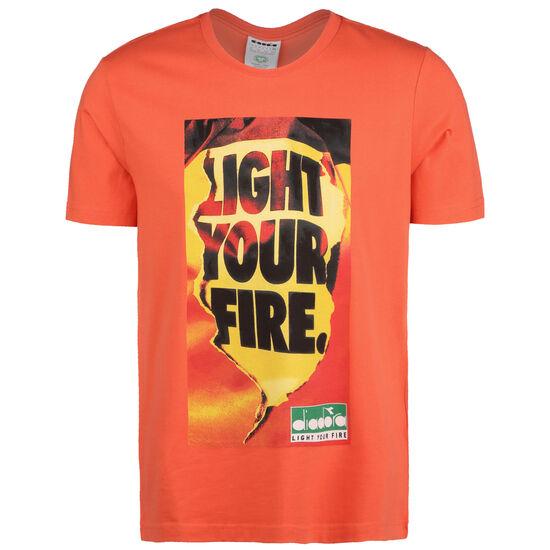 Light Your Fire T-Shirt Herren, orange / gelb, zoom bei OUTFITTER Online