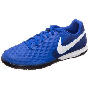 Tiempo Legend VIII Academy Indoor Fußballschuh Herren, blau / weiß, zoom bei OUTFITTER Online