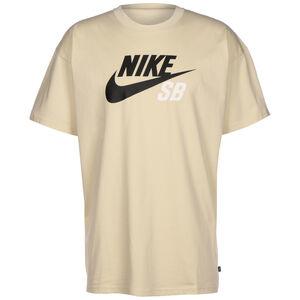 Logo T-Shirt Herren, beige, zoom bei OUTFITTER Online