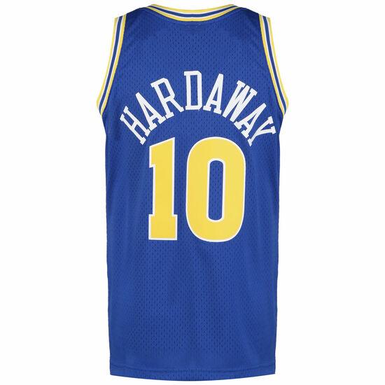 #10 Tim Hardaway Classic Swingman Basketballtrikot Herren, blau / gelb, zoom bei OUTFITTER Online