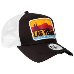 9Forty Las Vegas Distressed Trucker Cap, , zoom bei OUTFITTER Online