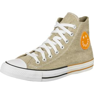 Chuck Taylor All Star High Sneaker, hellbraun / orange, zoom bei OUTFITTER Online
