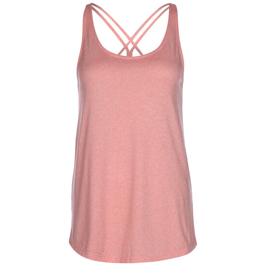 Tunic Trainingstop Damen, pink / weiß, zoom bei OUTFITTER Online