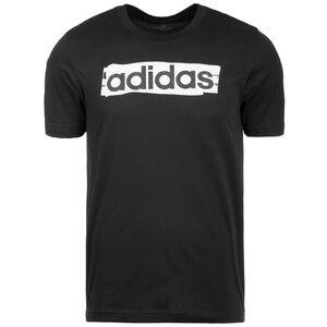 Linear Brush T-Shirt Herren, schwarz / weiß, zoom bei OUTFITTER Online