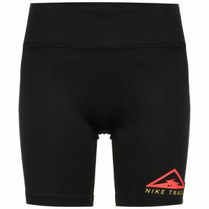 Fast Trail Laufshort Damen, schwarz / neonrot, zoom bei OUTFITTER Online