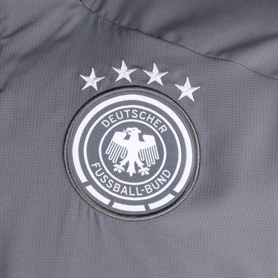 DFB Präsentationsjacke EM 2021 Herren, grau / weiß, zoom bei OUTFITTER Online