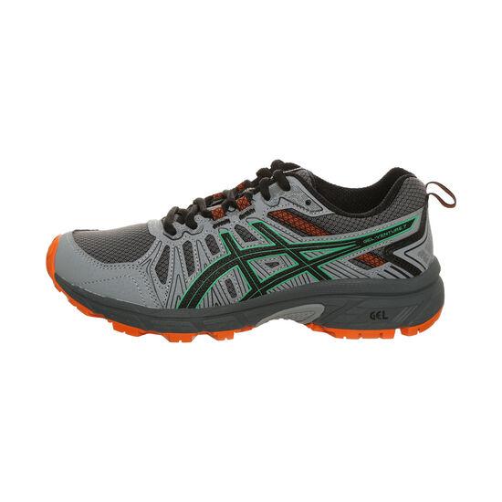 GEL-VENTURE 7 GS Trail Laufschuh Kinder, grau / rot, zoom bei OUTFITTER Online