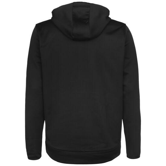 Armour Fleece Graphic Kapuzenpullover Herren, schwarz / hellgrün, zoom bei OUTFITTER Online