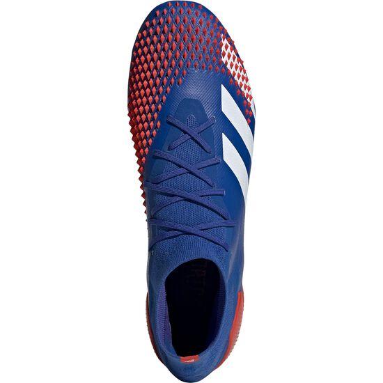 Predator 20.1 FG Fußballschuh Herren, blau / rot, zoom bei OUTFITTER Online