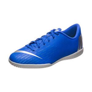 Mercurial VaporX XII Academy Indoor Fußballschuh Kinder, blau / silber, zoom bei OUTFITTER Online