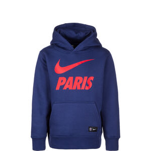 Paris St.-Germain Core Kapuzenpullover Kinder, Blau, zoom bei OUTFITTER Online