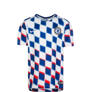 FC Chelsea Dry Squad GX 2 Trainingsshirt Kinder, weiß / blau / rot, zoom bei OUTFITTER Online