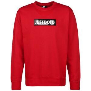 Just Do It Crew Fleece 365 Sweatshirt Herren, rot / schwarz, zoom bei OUTFITTER Online