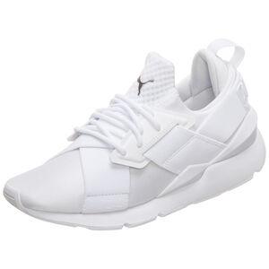 Muse Satin En Pointe Sneaker Damen, weiß, zoom bei OUTFITTER Online