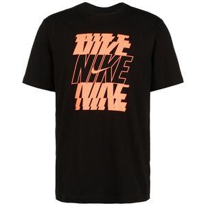 Swoosh Block 12 Month T-Shirt Herren, schwarz / orange, zoom bei OUTFITTER Online