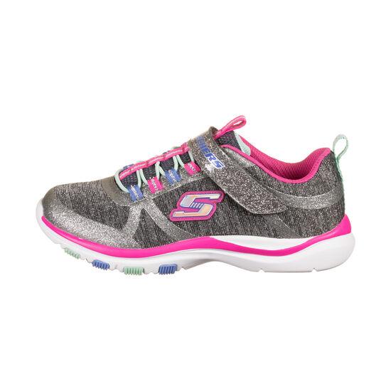 Lite Jazzy Jumper Sneaker Kinder, grau / pink, zoom bei OUTFITTER Online