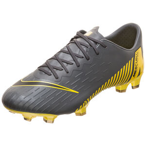 Mercurial Vapor XII Pro FG Fußballschuh Herren, dunkelgrau / gelb, zoom bei OUTFITTER Online