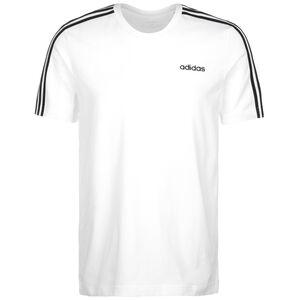 Essentials 3-Stripes T-Shirt Herren, weiß / schwarz, zoom bei OUTFITTER Online