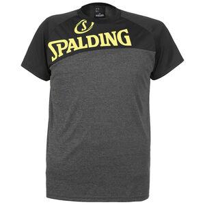 Street T-Shirt Herren, dunkelgrau / neongelb, zoom bei OUTFITTER Online