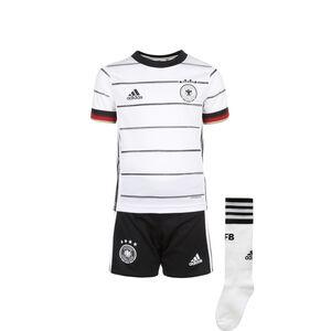 DFB Minikit Home EM 2020 Kinder, weiß / schwarz, zoom bei OUTFITTER Online