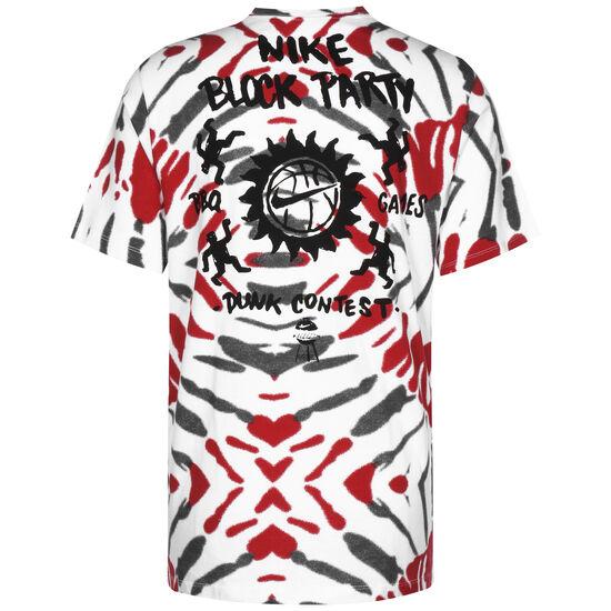 Festival Basketballshirt Herren, schwarz / rot, zoom bei OUTFITTER Online